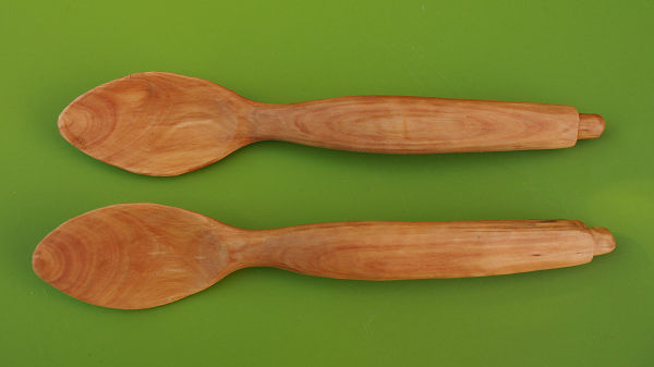 artisan wooden spoon