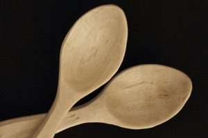 2 crepe myrtle eatig spoons for sale