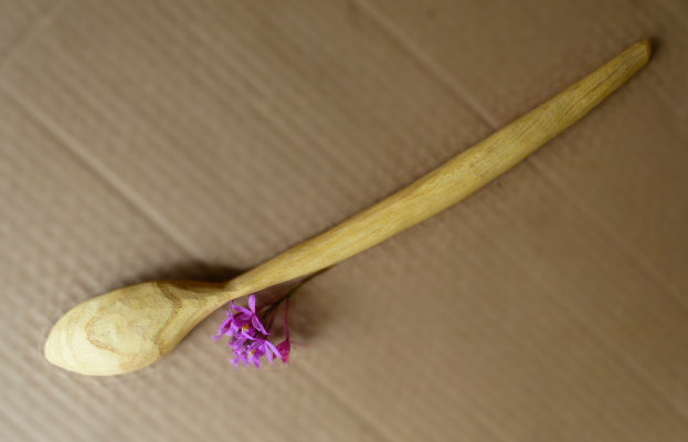 hand made acacia spoon for sale