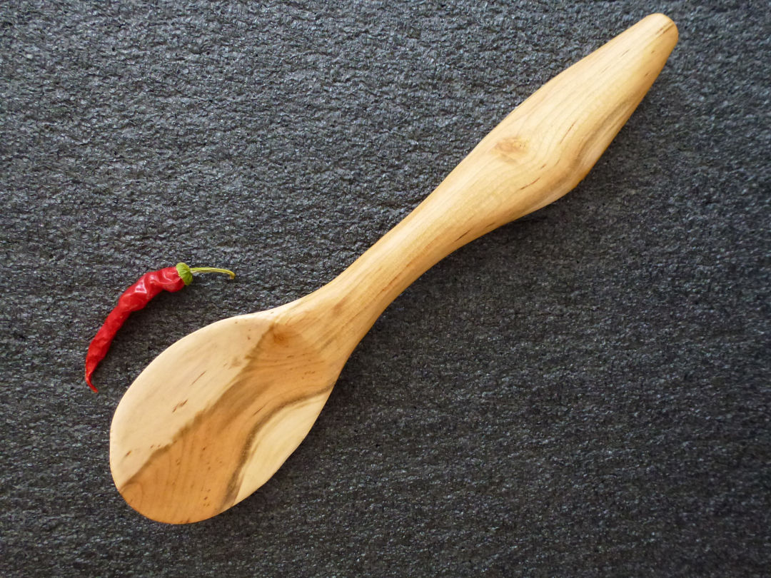 plum wood spoon